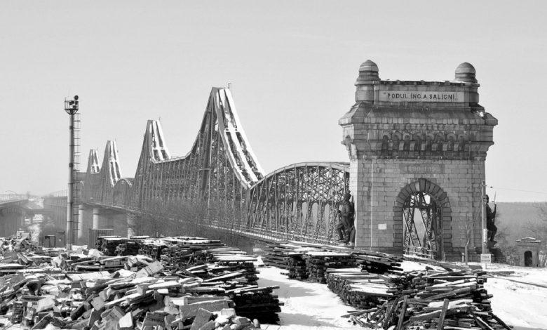 Podul Anghel Saligny de la Cernavodă- sursa foto shtiu.ro