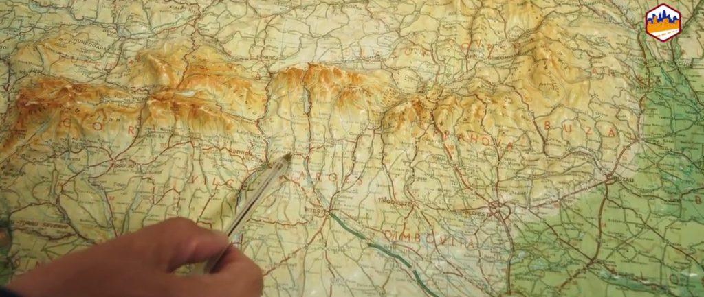 Constructie tuneluri Romania - Harta - imagine Grup Infrastructura